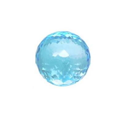 Топаз Sky Blue огранка шар