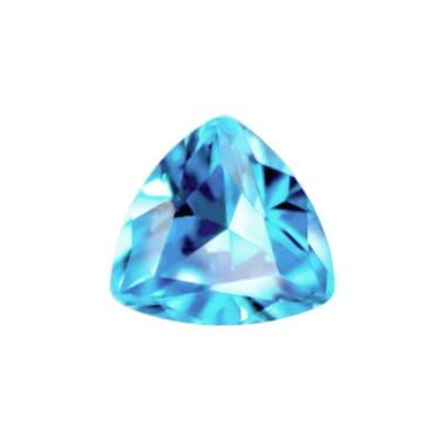 Фианит голубой триллион от 4×4 мм до 8×8 мм