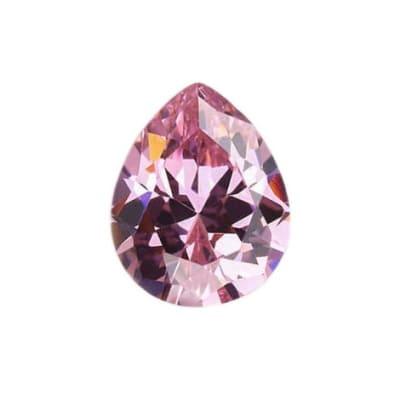 Фианит розовый груша от 4×3 мм до 7×5 мм (Упаковка 10 шт.)