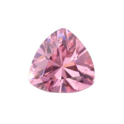 Фианит розовый триллион от 4×4 мм до 12×12 мм