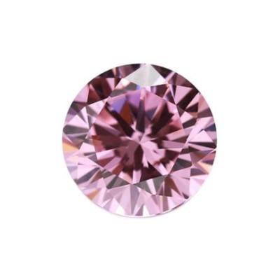 Фианит розовый круг от 1,0 мм до 3,0 мм(Упаковка 100 шт)