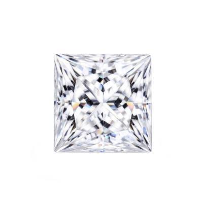 Фианит квадрат бесцветный от 2×2 до 4×4 мм (Упаковка 10 шт)
