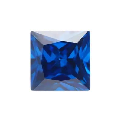 Фианит танзанитовый квадрат от 2×2 мм до 5×5 мм (Упаковка 10 шт)